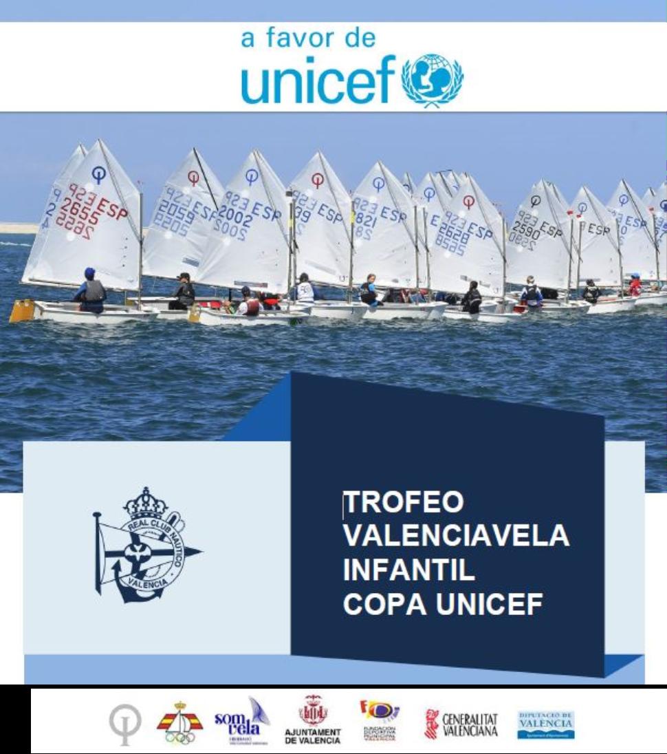 TROFEO VALENCIA VELA INFANTIL- REGATA A FAVOR DE UNICEF